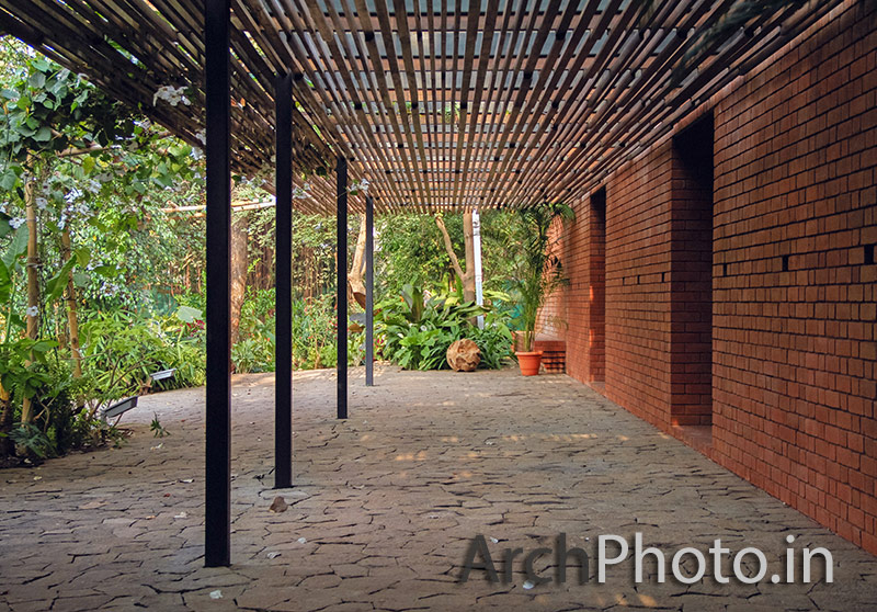 The Brick Kiln House, Alibaug - ArchPhoto Residential Architecture + Interior Photography