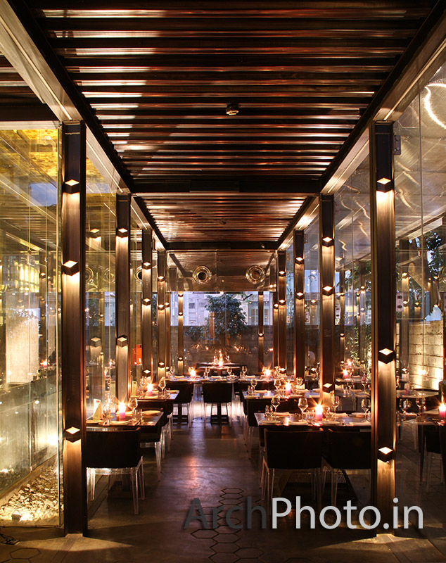 The Glasshouse, Bangalore Restaurant - ArchPhoto Architectural Photography