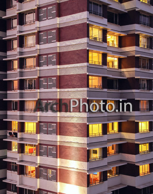 Residential Apartment, Bandra Building - Mumbai Architecture Photography